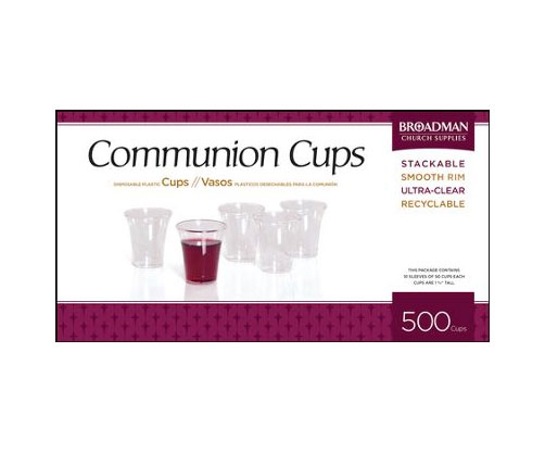 Plastic Communion Cups