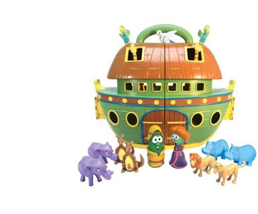 VeggieTales Noah's Ark Playset
